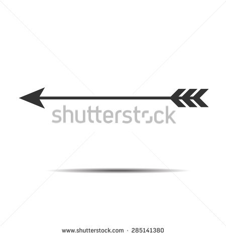 Decorative arrow clip art svg library Bow and Arrow Free Vector | 123Freevectors svg library