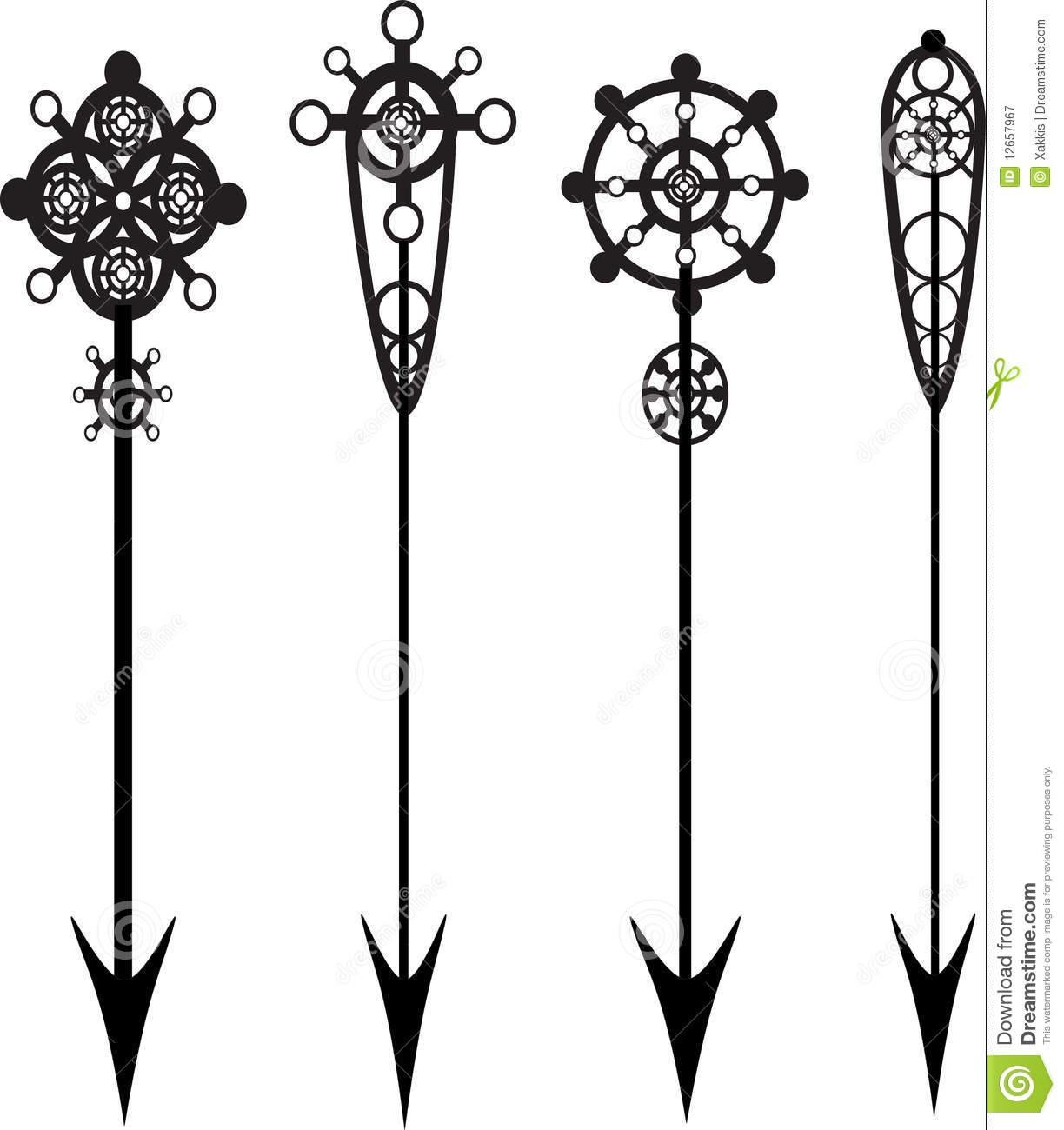 Decorative arrow clip art vector stock Vintage Arrow Clipart - Clipart Kid vector stock