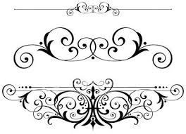 Free calligraphy scroll clipart jpg black and white fancy scrolls scrollwork clipart vector fretwork swirls ... jpg black and white