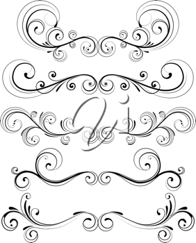 Tan fancy filigree clipart picture black and white stock Royalty Free Clipart Image of Decorative Designs | filigree ... picture black and white stock