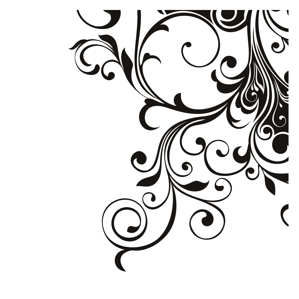 Free clipart bold black and white fall corner clip art transparent download Free Decorative Cliparts Design, Download Free Clip Art ... clip art transparent download