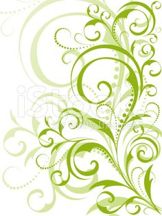 Decorative elegant vines and swirls with leaves clipart jpg stock Vine clipart swirly - 124 transparent clip arts, images and ... jpg stock