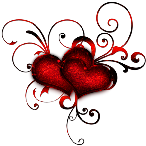 Decorative heart clipart. Gallery elements png