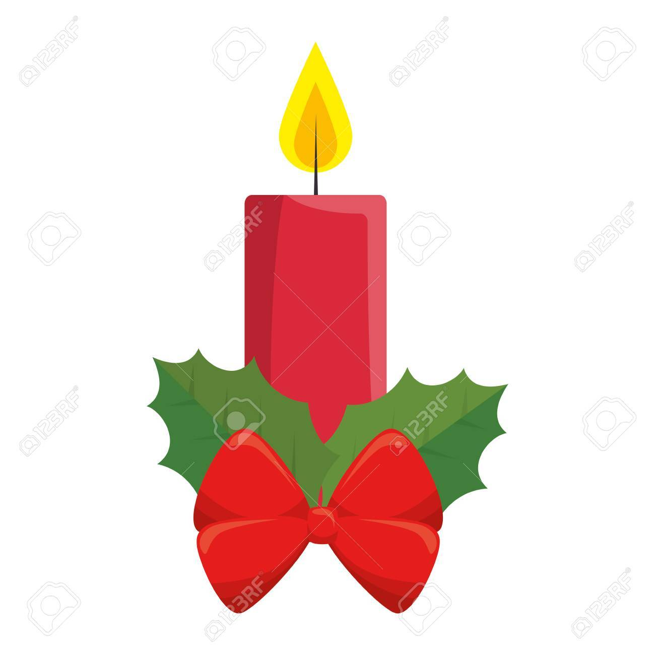 Decorative icon clipart png freeuse library Christmas candles decorative icon » Clipart Portal png freeuse library