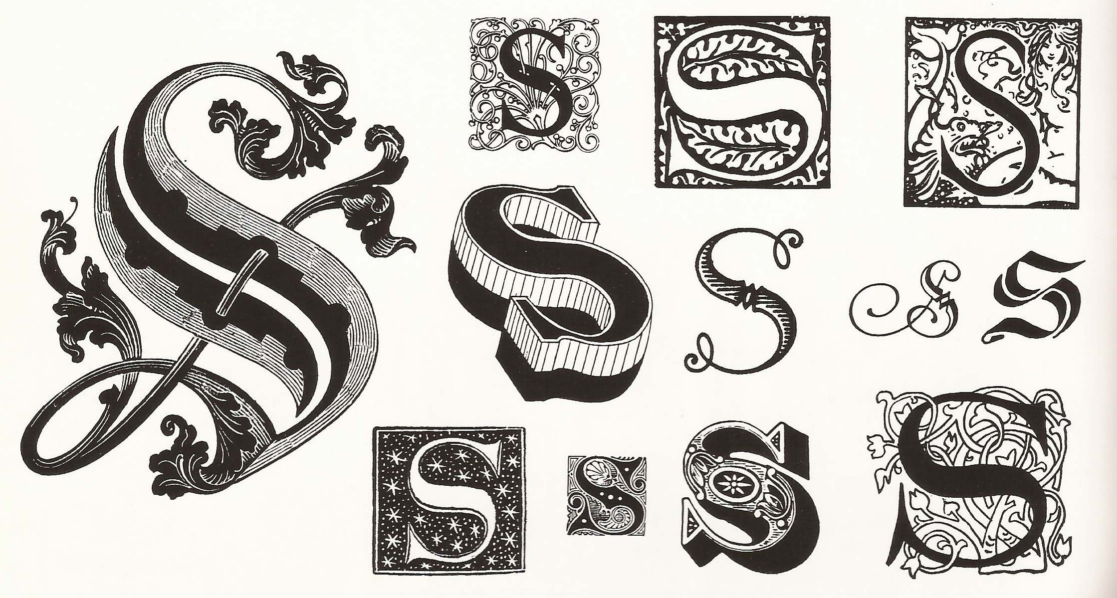 Decorative letter s clipart png transparent download Decorative letter s clipart - ClipartFest png transparent download