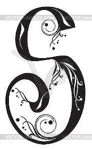 Clipartfest . Decorative letter s clipart
