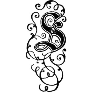 Decorative letter s clipart svg stock Decorative Letter S Clipart - Polyvore svg stock