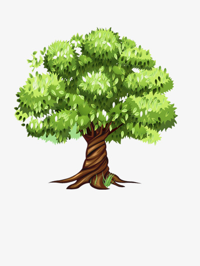 Decuduous clipart png transparent stock Download Free png Deciduous Trees, Lovely, Cartoon, Plant PNG Image ... png transparent stock