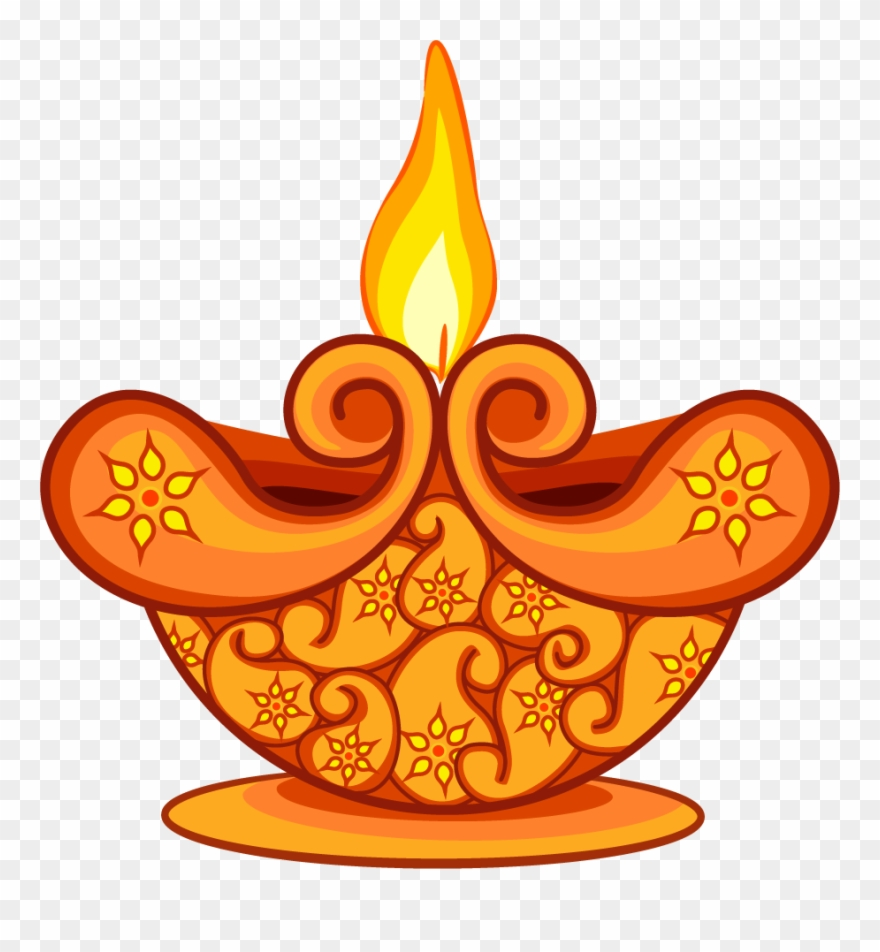 Diwali lamp clipart picture freeuse Lamp Clipart Lamplight - Clipart Diwali Lamp Png Transparent ... picture freeuse