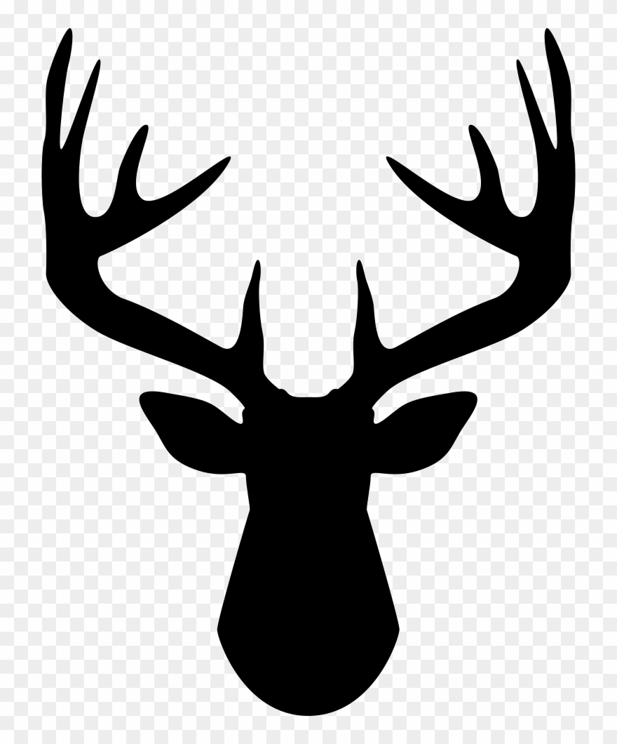 Antlers clipart banner freeuse Footprints Clipart Deer - Deer Antler Clipart - Png Download ... banner freeuse