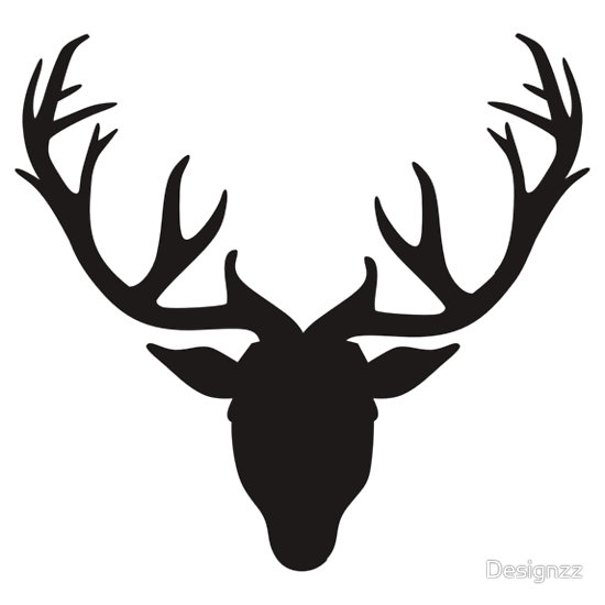 Deer antlers clipart black and white picture royalty free Free Deer Antlers Clipart Black And White, Download Free ... picture royalty free