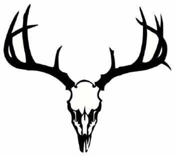 Deer antlers clipart black and white clip art transparent stock Deer Black And White Clipart | Free download best Deer Black ... clip art transparent stock