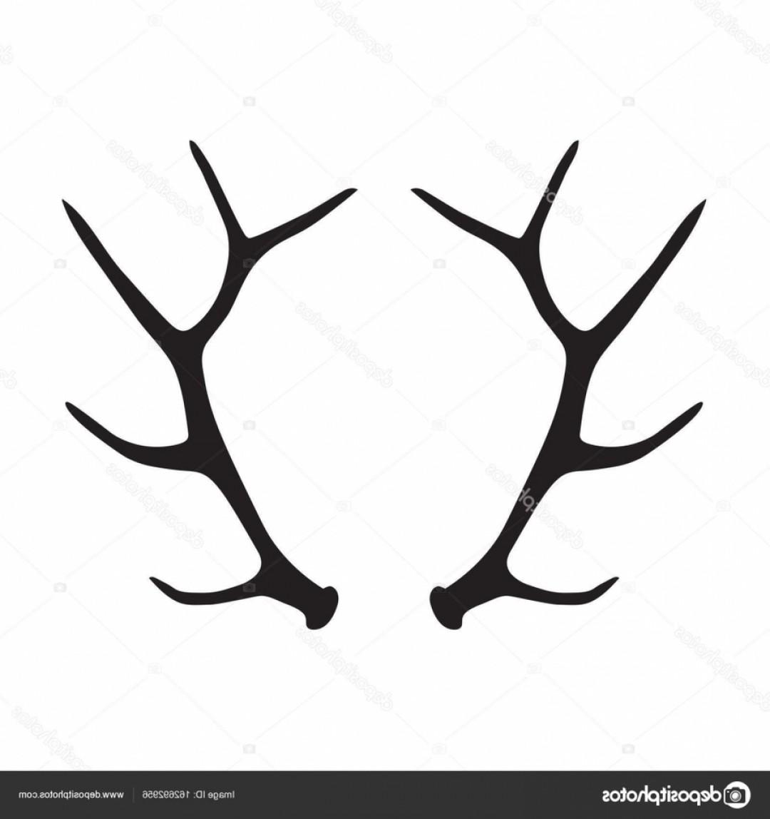 Antlers clipart jpg royalty free library Elk Antler Silhouette Clipart Elk Deer Antler Ydpnu | SOIDERGI jpg royalty free library