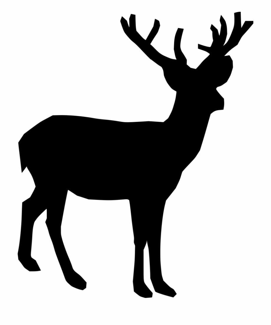Deer clipart black freeuse stock Download Png - Deer Clipart Black And White Free PNG Images ... freeuse stock