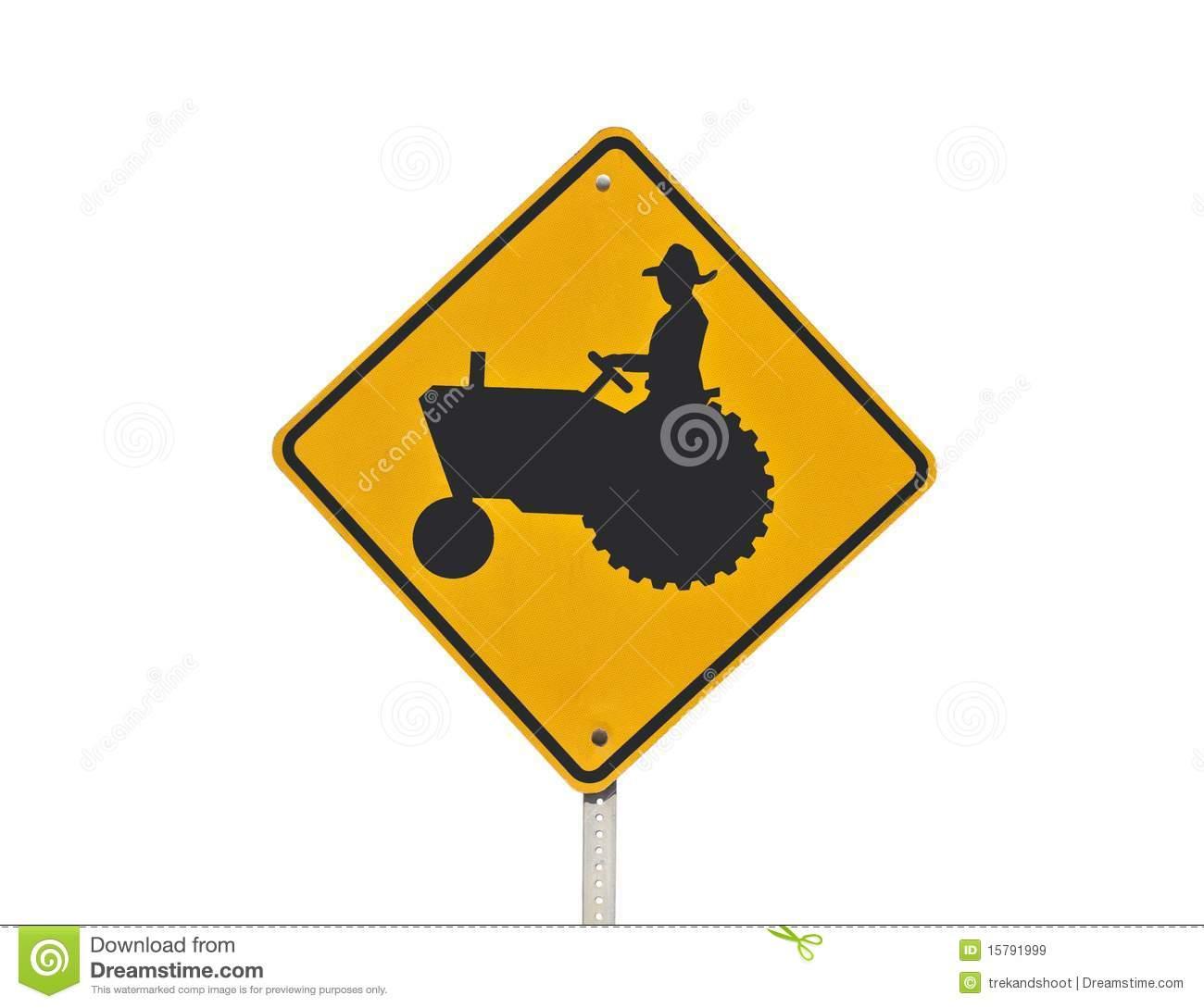 Deer crossing sign clipart png download Tractor Crossing Sign Clipart - Free Clipart png download