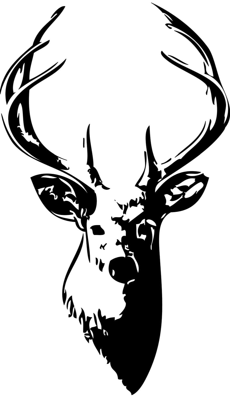 Deer head clipart black and white banner free stock Deer head clipart black and white 2 » Clipart Station banner free stock