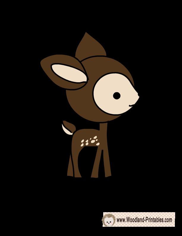 Deer heart clipart stock photo jpg royalty free library Free Printable Deer Wall Sticker | Cayute! | Pinterest | Wall ... jpg royalty free library