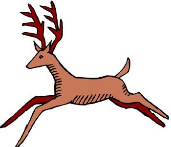 Deer running clipart clip art free download Deer running clipart » Clipart Portal clip art free download
