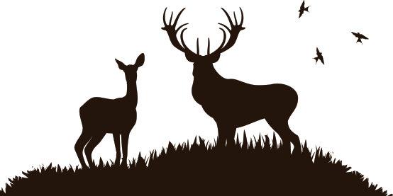 Deer scene clipart image download Free Deer Scene Cliparts, Download Free Clip Art, Free Clip Art on ... image download