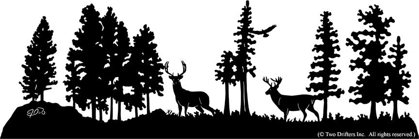 Deer scene clipart picture Free Deer Scene Cliparts, Download Free Clip Art, Free Clip Art on ... picture