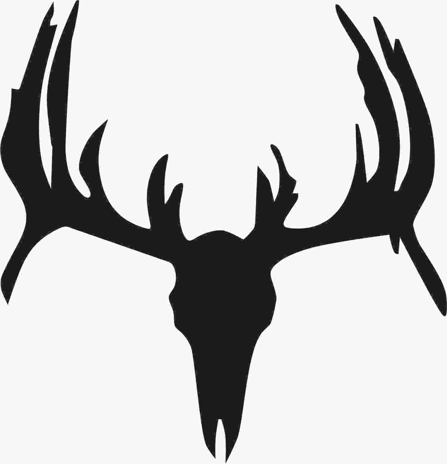 Deer skull clipart graphic transparent library Free Deer Skull Clipart, Download Free Clip Art, Free Clip ... graphic transparent library