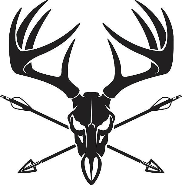 Deer skull clipart royalty free library Top Deer Skull Clip Art Vector Graphics And Illustrations ... royalty free library