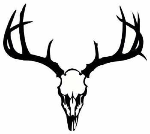 Deer skull clipart stock Dear Skull   Deer Skull image - vector clip art online ... stock