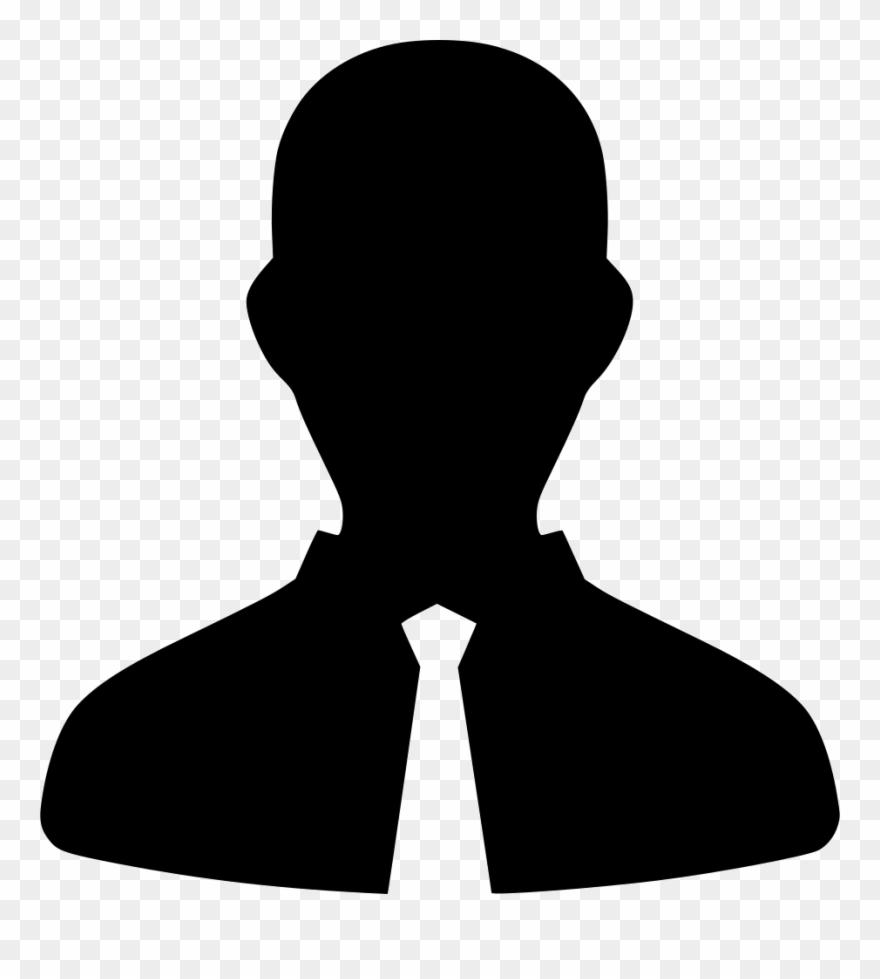 Default profile picture clipart png royalty free download Man User Default Suit Business Comments - Testimonial Silhouette ... png royalty free download