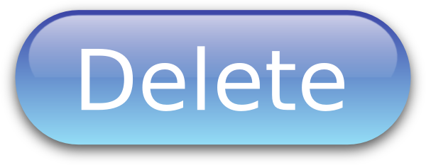 Delete button clipart jpg library library Delete Button Blue PNG, SVG Clip art for Web - Download Clip Art ... jpg library library