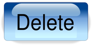 Delete button clipart png free stock Delete Button.png Clip Art at Clker.com - vector clip art online ... png free stock