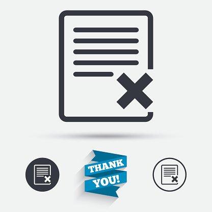 Delete clipart files vector royalty free Delete File Sign Remove Document premium clipart - ClipartLogo.com vector royalty free
