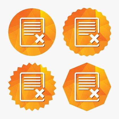 Delete clipart files image download Delete File Sign Remove Document premium clipart - ClipartLogo.com image download