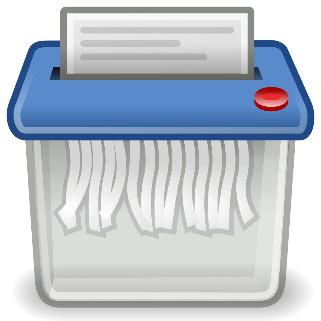 Delete clipart files image black and white How to Really Delete your Files - Hardware Secrets image black and white