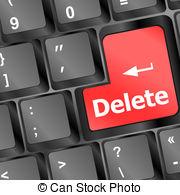 Delete clipart image png black and white stock Delete key Vector Clip Art Royalty Free. 1,136 Delete key clipart ... png black and white stock
