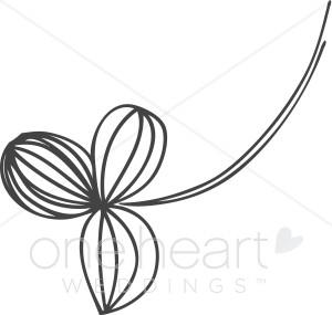 Delicate clipart graphic transparent stock Delicate Flower Clipart | Flower Clipart graphic transparent stock