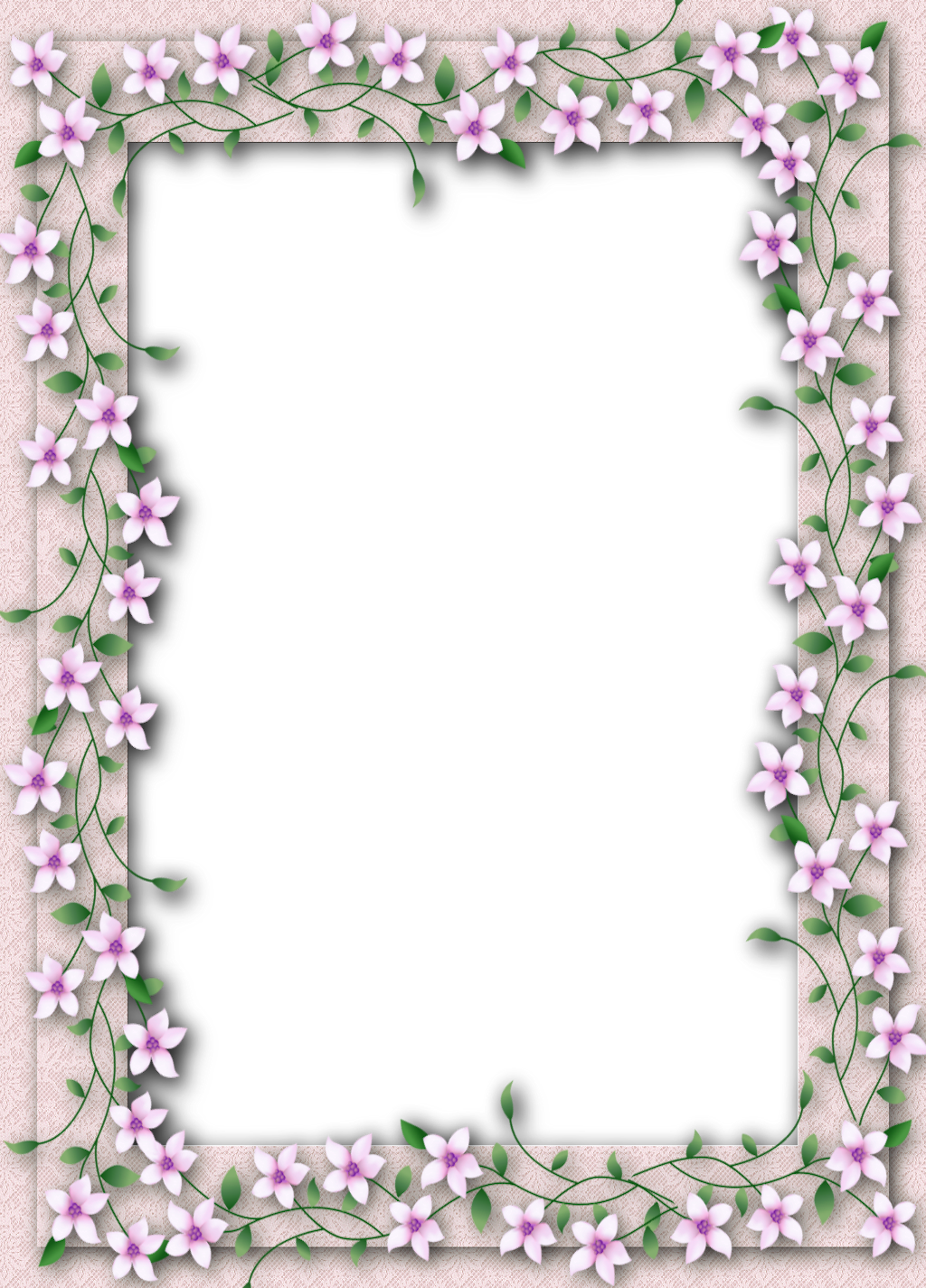 Delicate flower clipart black and white Delicate PNG Transparent Flower Frame   Gallery Yopriceville - High ... black and white