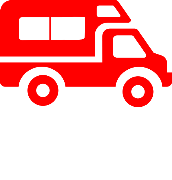 Vehicles cliparts zone van. Delivery car clipart