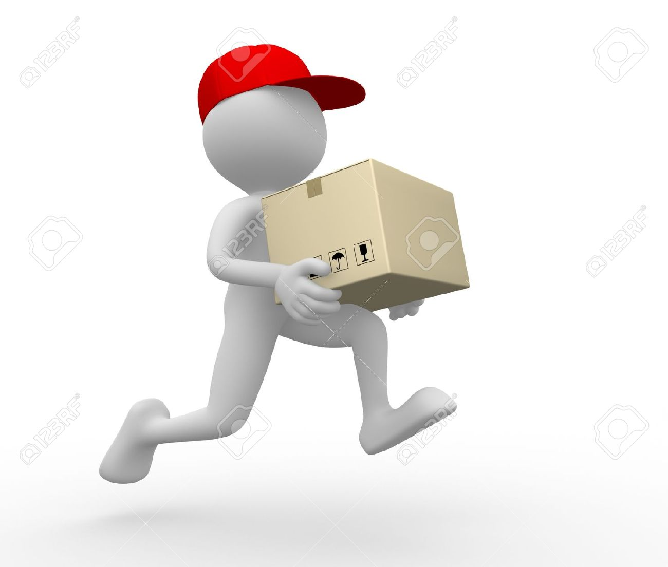 Delivery person clipart clipart freeuse library parcel-clipart-delivery-person-18 - Spotted Sheep clipart freeuse library