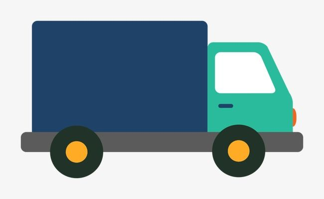 Delivery truck clipart images graphic transparent Vector Delivery Truck, Truck Clipart, Vector, Flat PNG and Vector ... graphic transparent