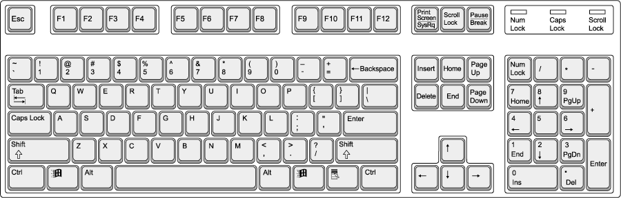 Dell computer keyboard clipart banner library library Dell Computer Keyboard Clip Art – Clipart Free Download banner library library