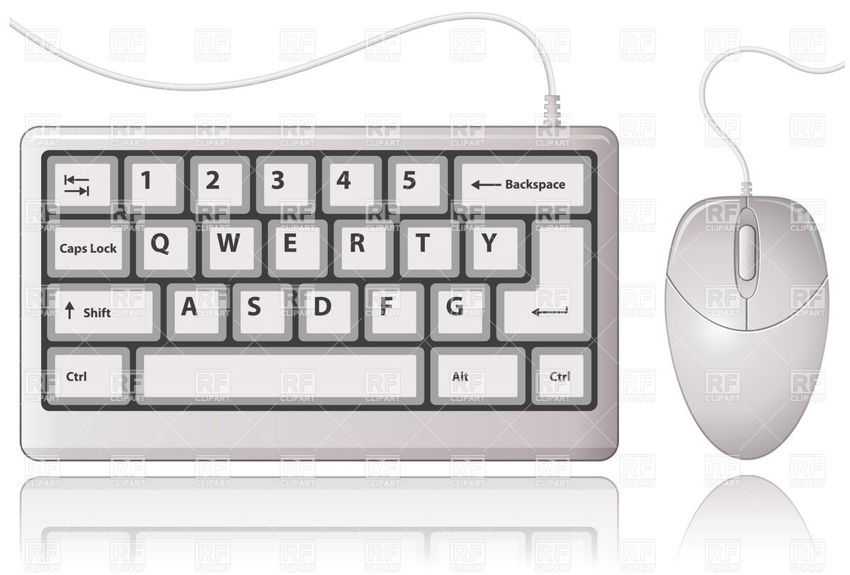 Dell computer mouse clipart image free library Dell Computer Keyboard Clipart Clip art of Keyboard Clipart #7313 ... image free library