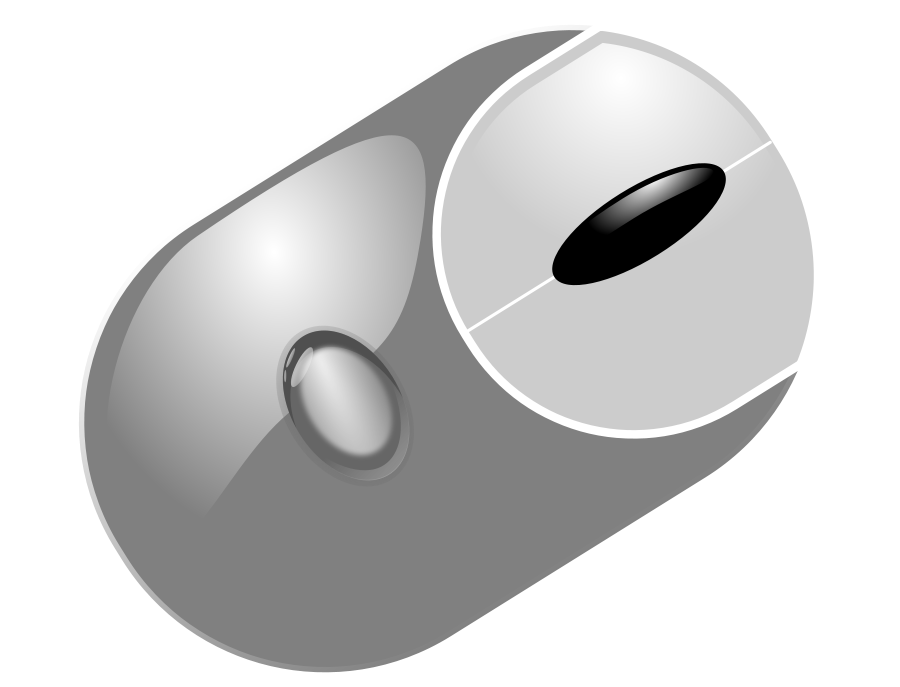 Dell computer mouse clipart. Free image download clip