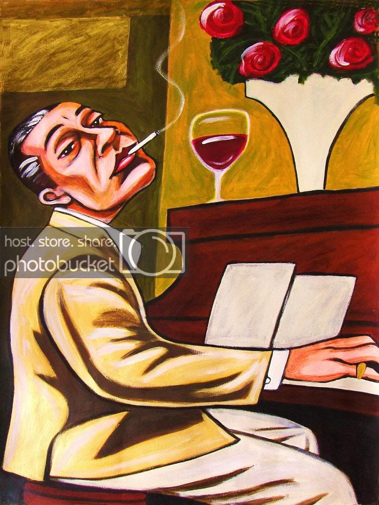 Delovely clipart png stock COLE PORTER PRINT poster jazz piano american songbook de-lovely ... png stock