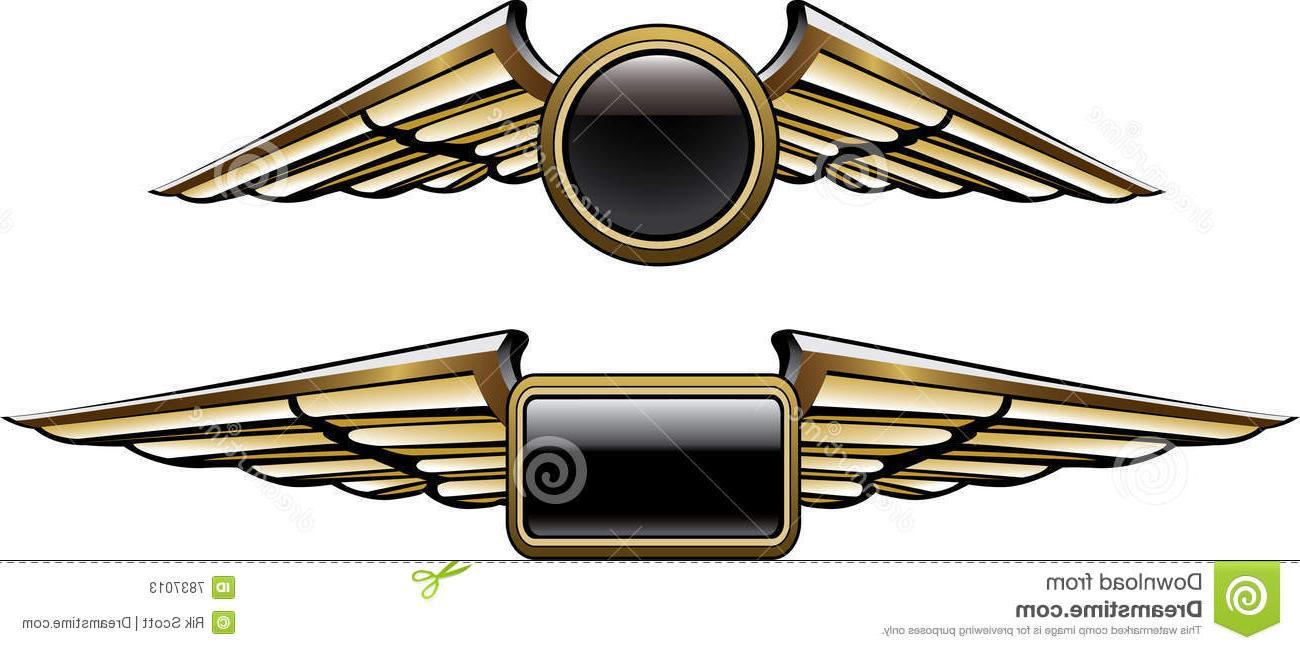 Delta pilot wings clipart bw jpg download Unique Pilot Wings Logo Vector Pictures » Free Vector Art, Images ... jpg download