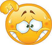 Denkender kopf clipart. Rauchender clipartfox embarrassed emoticon
