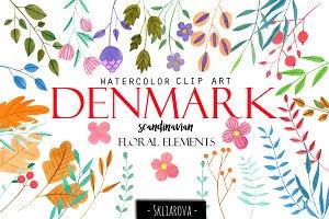 Denmark clipart image black and white download Denmark\