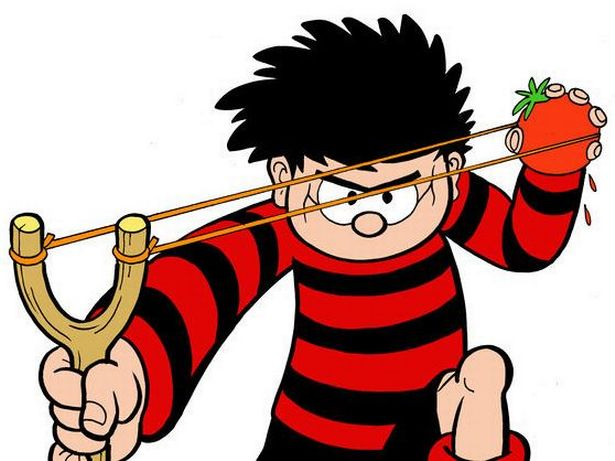 Dennis the menace clipart clip freeuse Dennis the Menace is losing his \'Menace\' in a diversity rebrand - Smooth clip freeuse