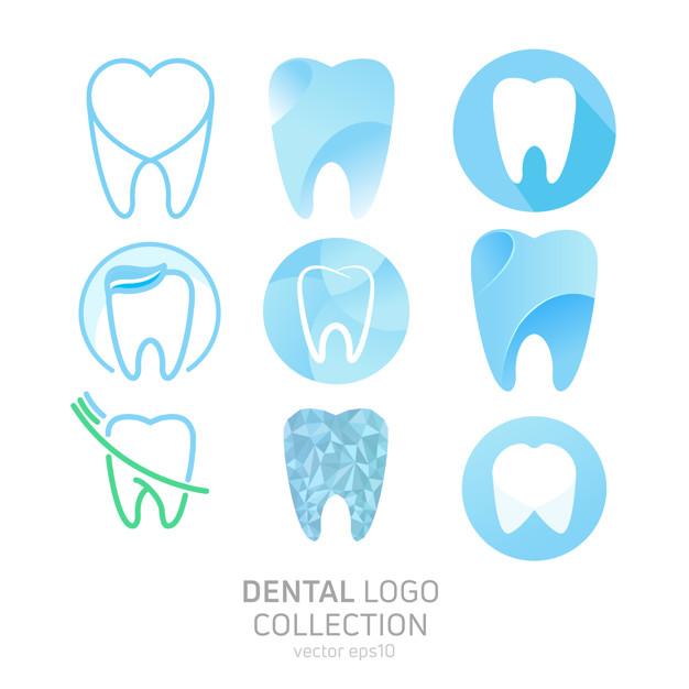 Dental clinic logo clipart clip art library stock Dental Logo Vectors, Photos and PSD files | Free Download clip art library stock