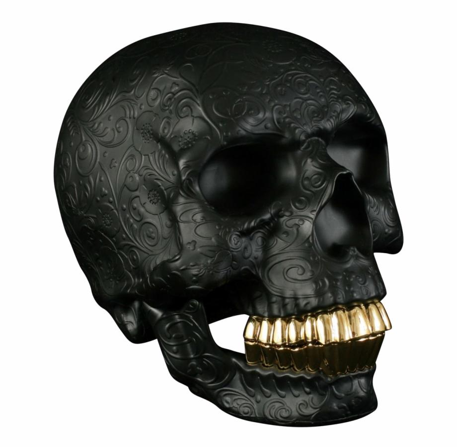 Dente de ouro clipart clip free download Black Skull Png Photo - Negro Com Dente De Ouro, Transparent ... clip free download