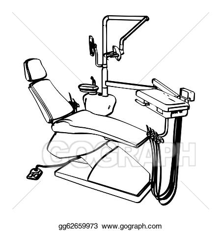 Dentist chair clipart